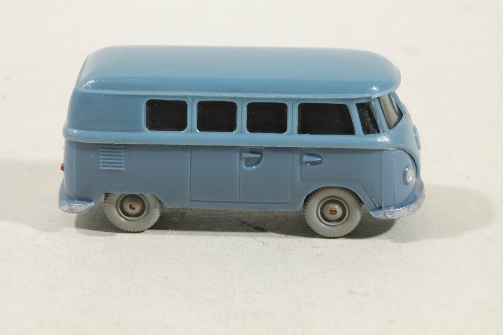 323 TYPE 1 G Wiking VW t1 bus (alt) 1959 - 1966 mattgrisbleu, hellmattgrisbleu