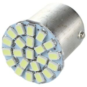 2-X-1156-Ba15s-P21W-1206-AMPOULE-LAMPE-SMD-22-LEDs-BLANC-12V-POUR-VOITURE-D6F-T2