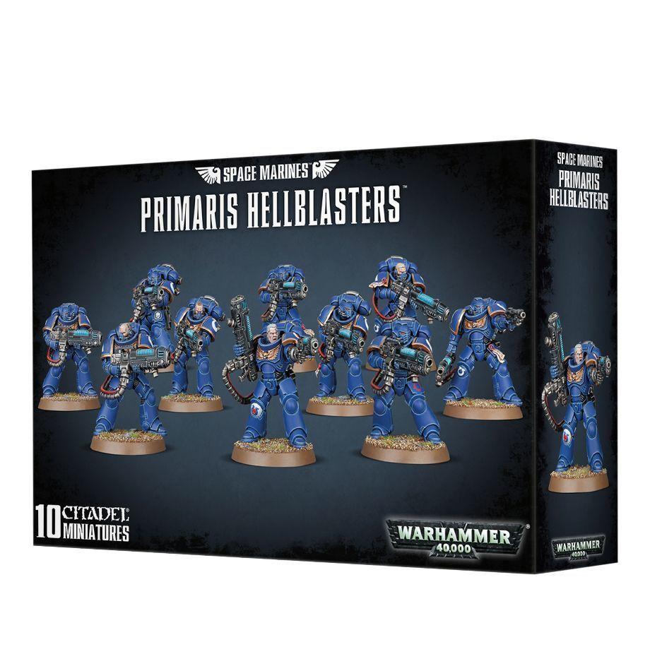 Warhammer 40k Space Marines Primaris Hellblasters NIB