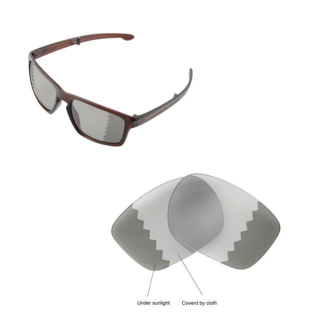 0be82f79c74 Walleva Transition Polarized Replacement Lenses For Oakley Sliver F  Sunglasses