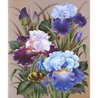 2x(diamond Embroidery Flower Picture by Rhinestones Diamond Painting Floral L9l3