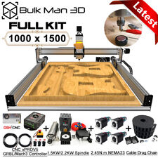 1015 Lead Cnc Router Machine Full Kit 4 Axis Precise T8 Leadscrew Drive Wood Cnc