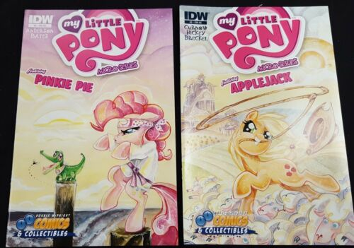 Double Midnight Comics My Little Pony Variant Set Sara Richard Early Work
