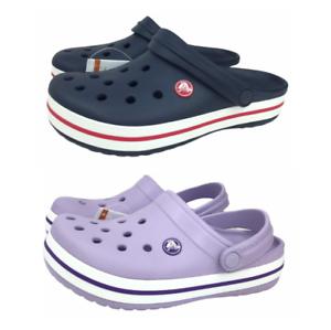 Crocs Kids Unisex Junior Crocband Zoccoli ACQUA Casual Comode Scarpe amichevole NUOVO