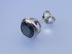 ECHT SILBER Ohrstecker mit je 1 Zirkonia D  3,00 mm 925 Silber gestempelt 1 Paar