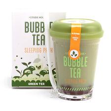 [ETUDE HOUSE] Bubble Tea Sleeping Pack #Green Tea 100g Rinishop