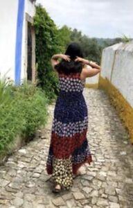9d8f5aaafdb3f Image is loading NEW-Anthropologie-Meadow-Rue-Petula-Floral-Maxi-Dress-