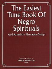 Easiest Tune Negro Spirituals Learn to PLAY Worship Piano Guitar PVG Music Book