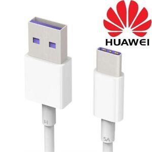 Détails sur Original 5 USB Type C Câble Chargeur pour Huawei Mate 20 20X 20 Lite P20 P30 Pro afficher le titre d'origine