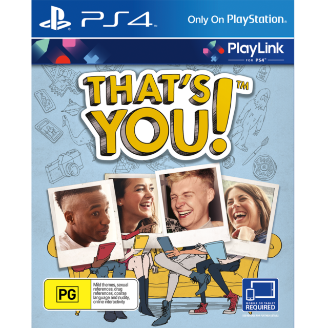 That's You! PS4 PlayStation 4 Thats You New Sealed AU