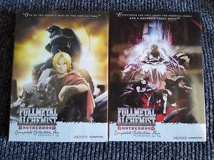 Fullmetal Alchemist: Brotherhood Complete Series 1-2 DVD ...