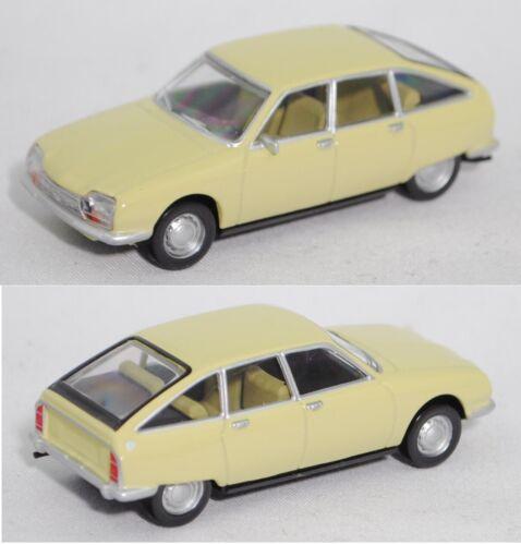 jaune primevère 1:65 Norev 310915 Citroen GS