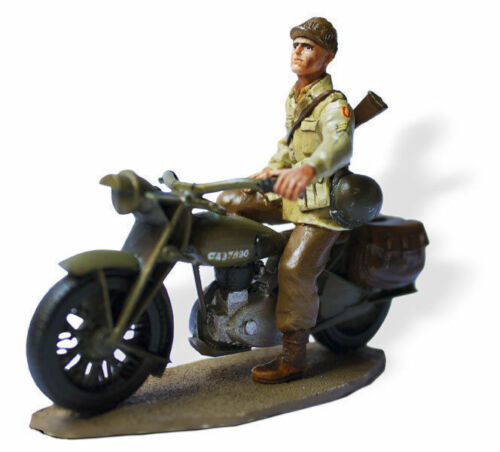 Soldati Di Piombo IN Moto 1:3 0 Norton Four Sergeant U.SMI024