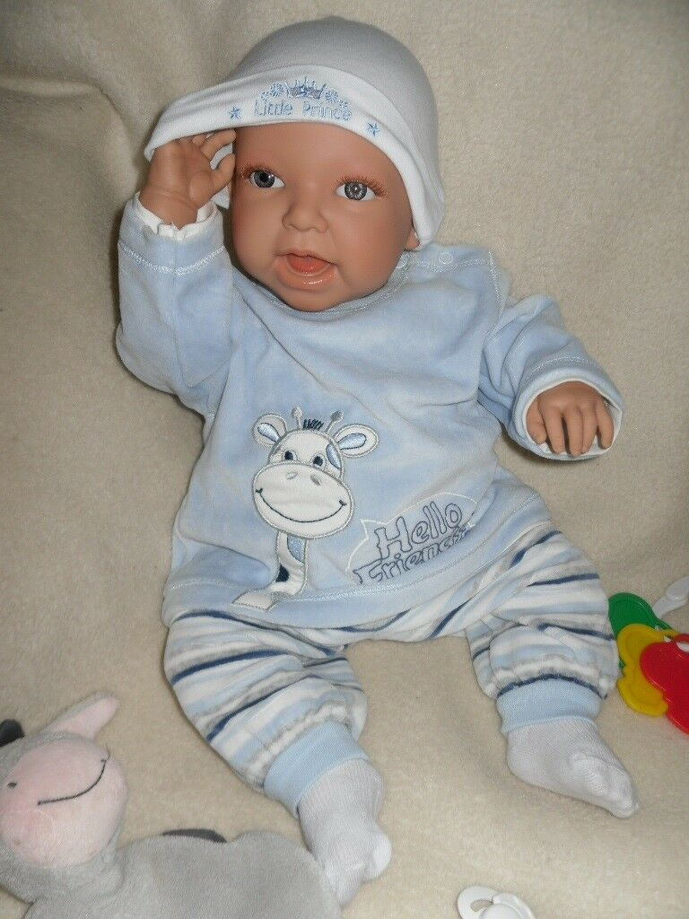 NEU Traumdolls Doro Doro Doro Dolls Babypuppe Vincent 52 cm  Spielpuppe Baby Puppen c54f4e