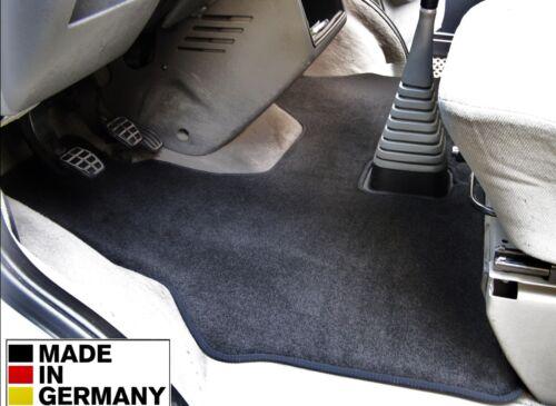 Alfombrilla VW t4 conductor casa-maletero cajas de cambio alta flor-alfombra negra SLB