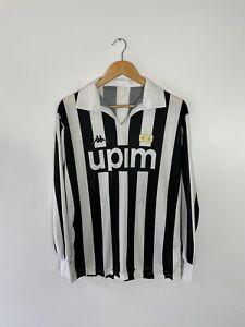 JUVENTUS 1989-90 Calcio Maglietta (Vintage Classico Retrò)