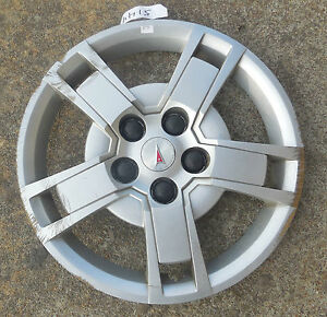 16 2009 10 pontiac vibe 5 spoke hubcap wheel cover. Black Bedroom Furniture Sets. Home Design Ideas
