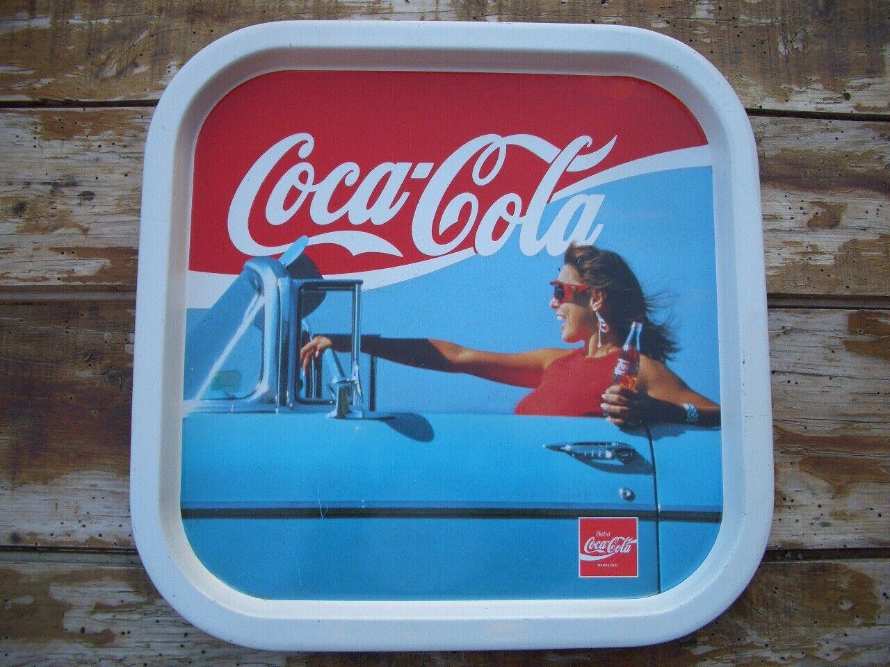 BANDEJA COCA COLA TRAY VINTAGE ANTIGUA COCACOLA ORIGINAL COCA-COLA COKE