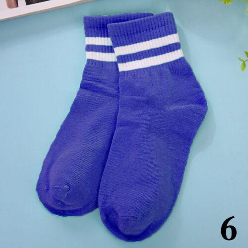 Casual Men Women/'s Cotton Socks Striped Sport Socks Business Gym Football New