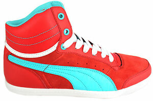 Up Court 03 Puma 354871 Lace D51 Trainers Glyde Girls Ladies Leather Womens 0xq145