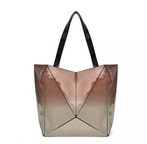 Bao Bao Bag Geometric Package Tote BaoBao White Shoulder Bag