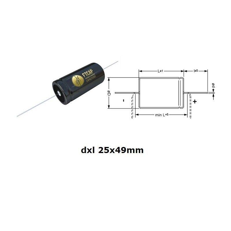 50mm fascetta in NYLON per elettrolitico d F/&T Fischer and Tausche NRS50