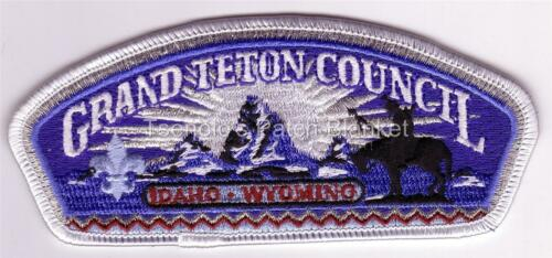Grand Teton Council 2000 SA-46 District Thank You Csp Mint Cond FREE SHIPPING