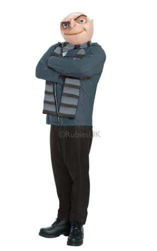 MENS GRU DESPICABLE ME 2 MINION MOVIE FANCY DRESS COSTUME BOSS OUTFIT VILLIAN