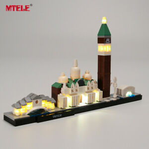 NEW-LED-Light-Up-Kit-For-LEGO-Architecture-Venice-Lighting-building-Set-21026