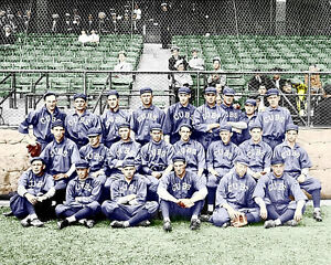 1913-Chicago-Cubs-Photo-8X10-Bresnahan-Evers-COLORIZED-Buy-Any-2-Get-1-Free