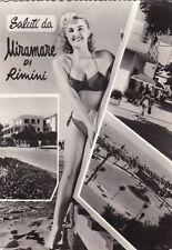 * RIMINI - Panorami e Donna in costume da bagno