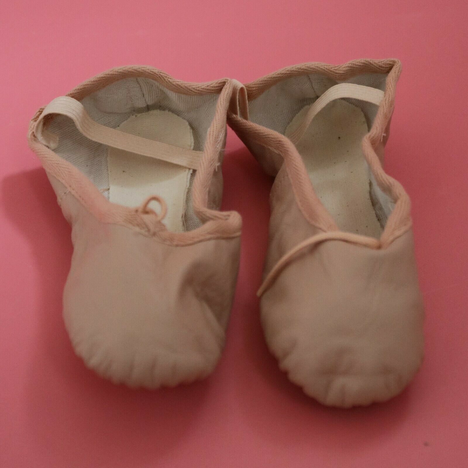 Tappers & Pointers Pink Leather Full Foot Ballet Shoes NEW Various Sizes