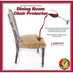 Image Is Loading Furniture Protector Dining Room Chair Plastic Cover Clear