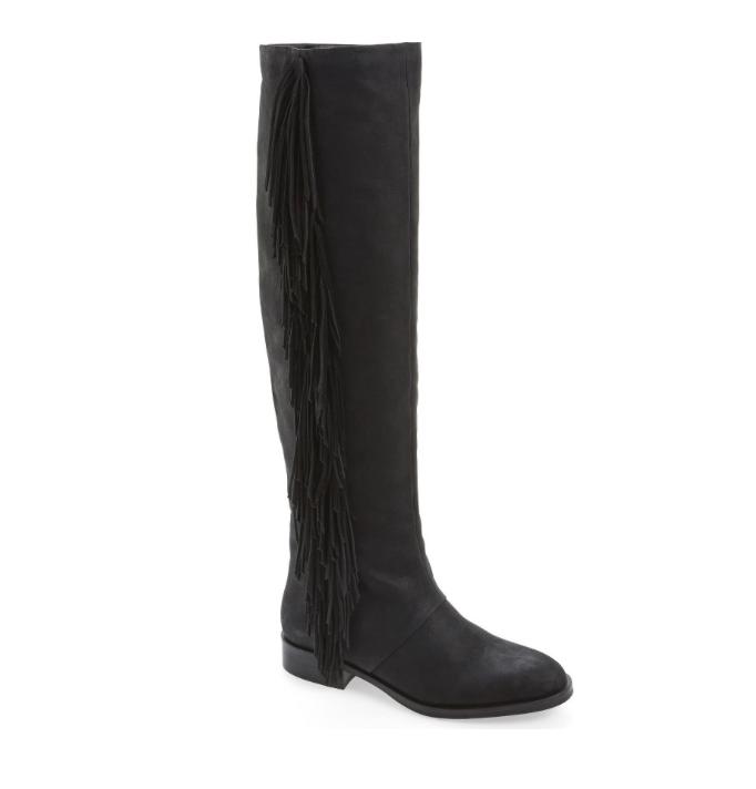 Sam Edelman Women's Black Josephine Tall Boots 7074 Size 7 M