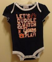 Brand Russell Athletics Auburn Tigers Snapbottom Baby Bodysuit 3-6 Months