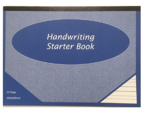 2 x grande écriture Books 25 page taille 200 mm x 250 mm Dalton Manor