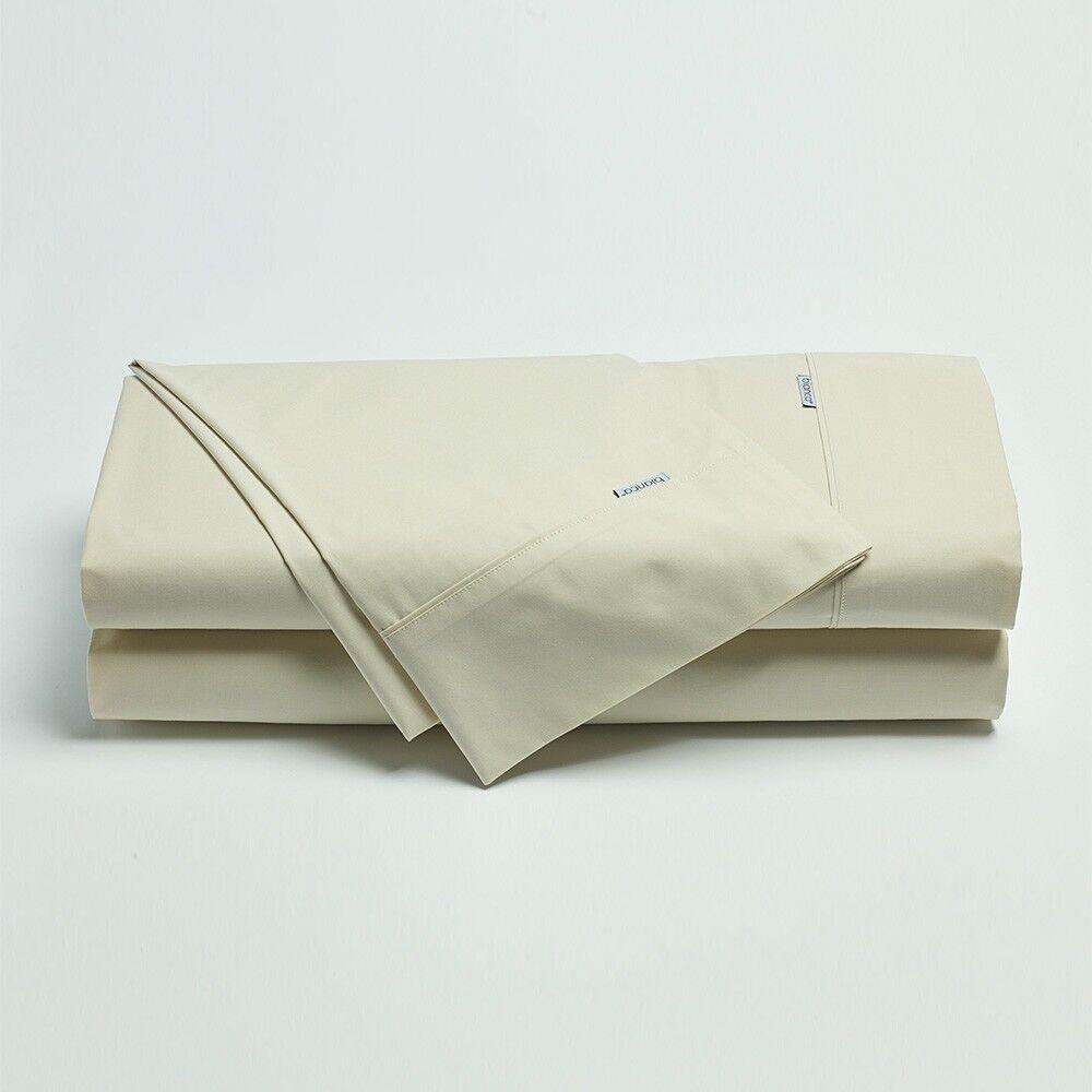 Weiß Heston 300tc 100% 100% 100% Cotton Percale Sheet Set Single Double Queen Super King 7148d6