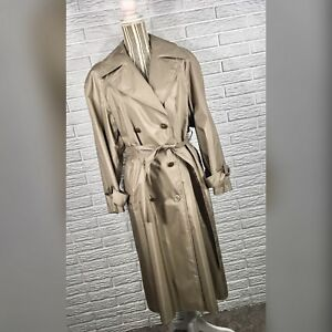 Trench trench Sterling vintage Giacca metallizzato in Bay 8 8tx5SXa