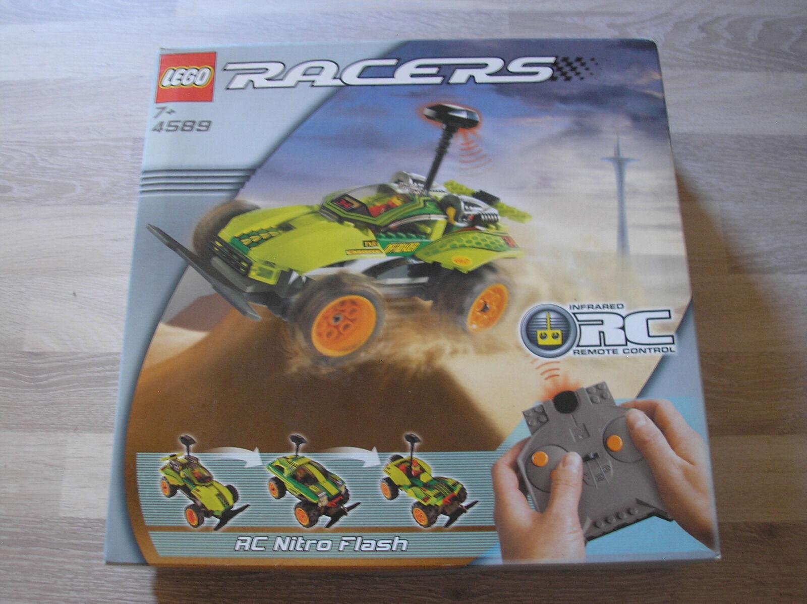 Lego Racers 4589 RC Nitro Nitro Nitro Flash   NEU & OVP - RARITÄT 7a7e0c