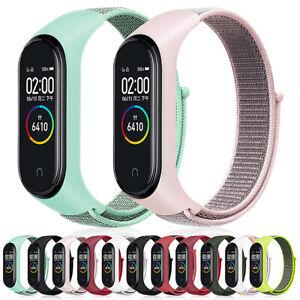 Nylon Loop Replaceable Bracelet For Xiaomi Mi band 5 3 4 Sports Wristband Strap