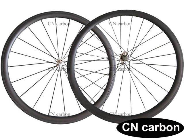 1130g only Super light 38mm Tubular carbon bike road wheelset  23mm,25mm