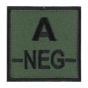ECUSSON-PATCH-GROUPE-SANGUIN-A-A-NEG-A-NEGATIF-avec-DOS-AUTO-AGRIPPANT