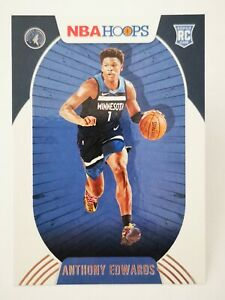 Panini Hoops 2020-21 N22 card NBA Rookie RC #216 Timberwolves Anthony Edwards