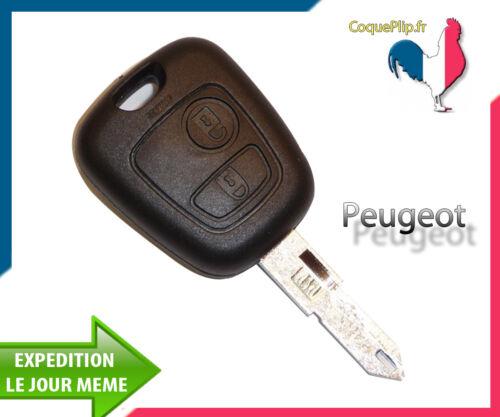 Cle vierge Coque Télécommande Plip Bouton Peugeot 306