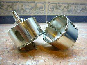 60mm-6cm-Neu-THK-Diamant-Hohlbohrer-Fliesen-Marmor-Bohrkrone-LUXUE-Grit-K50