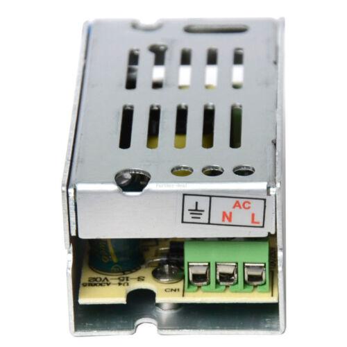 12V Led Power Supply Driver DC5V//24V Transformer Adapter Switch Strip Lights DIY