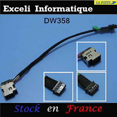DC Power Jack Cable Harness for HP PAVILION DV7 TPN-W109 DV7-7212NR 10PIN 120W