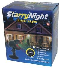 Starry Night Christmas Red/Green Light Shower Star With 8 Modes as on TV