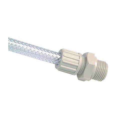 Verbinder PP bis 10 bar Gerade Einschraubverschraubung für Gewebeschlauch TX