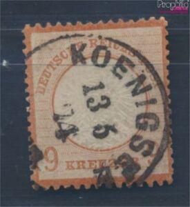Deutsches-Reich-27a-gestempelt-1872-Grosser-Brustschild-8105091